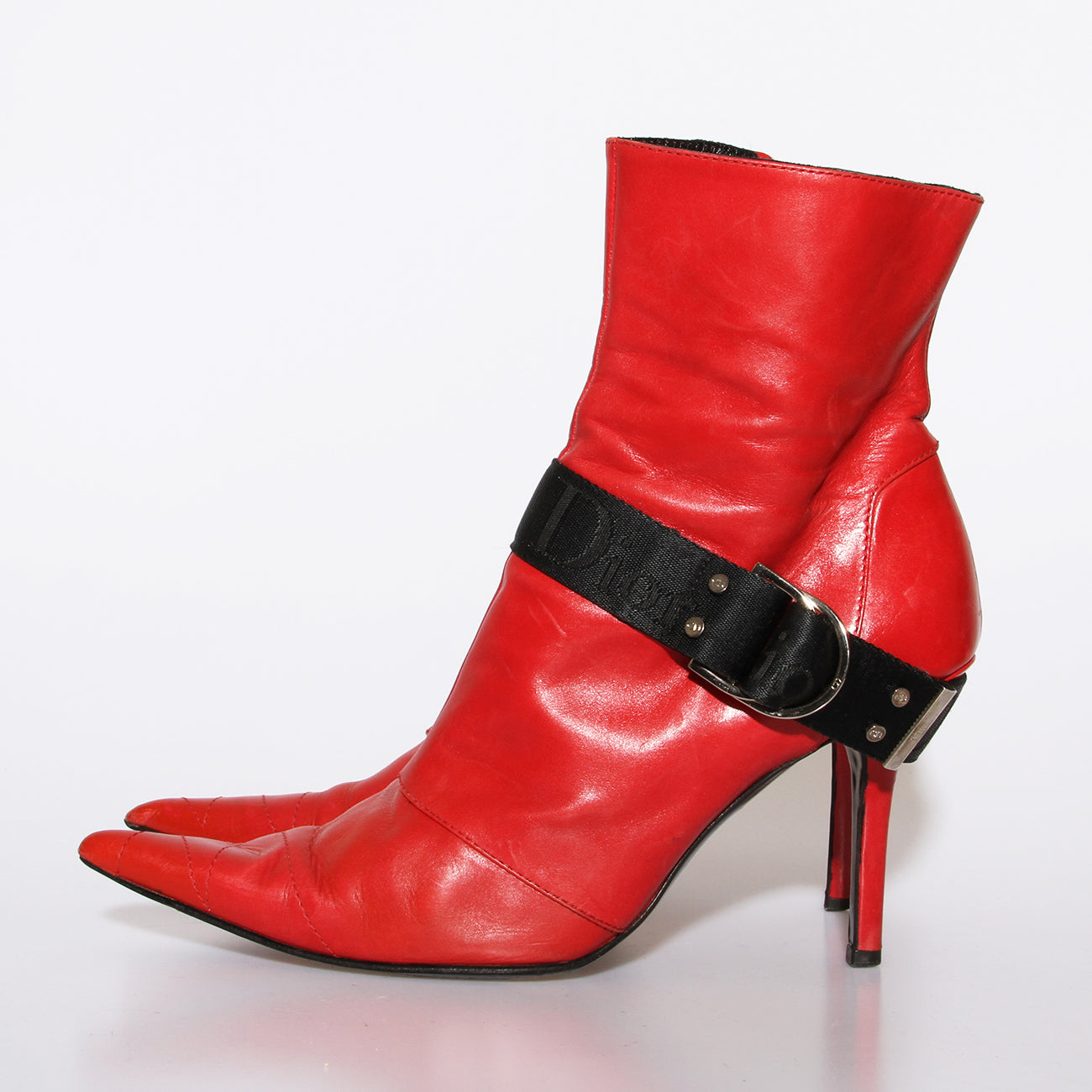 Dior Harness Ankle Boots