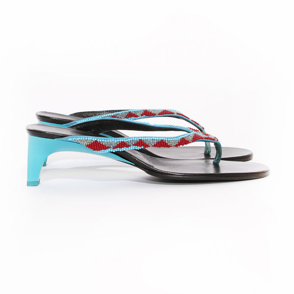 Gucci Beaded Sandal