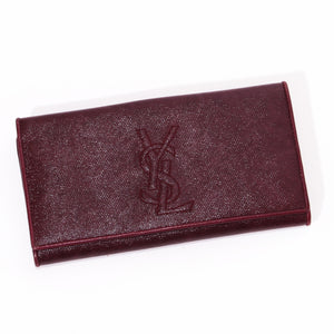 YSL Wallet Checkbook Holder