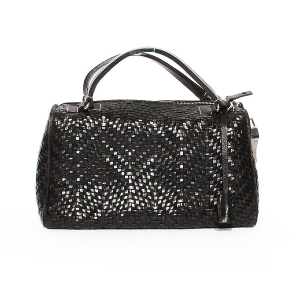 Barry Kieselstein-Cord Woven Leather Bag