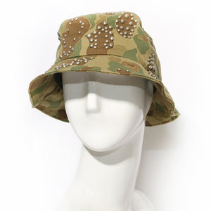Saint Laurent Camo Bucket Hat