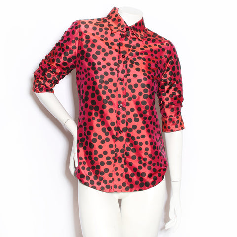 Moschino Polka Dot Blouse