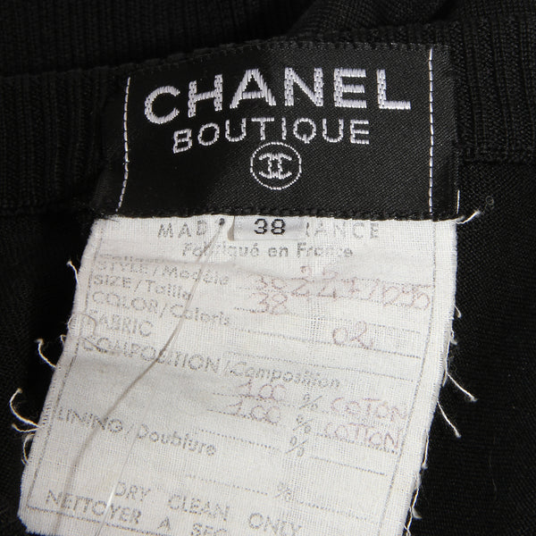 Chanel Knit T-Shirt