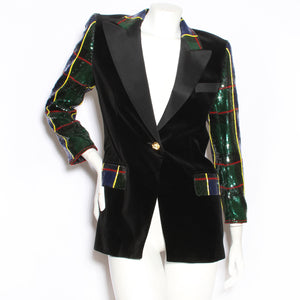 Escada Velvet and Sequin Jacket