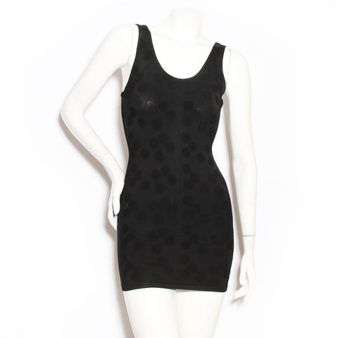 Alaia Black Dot Dress