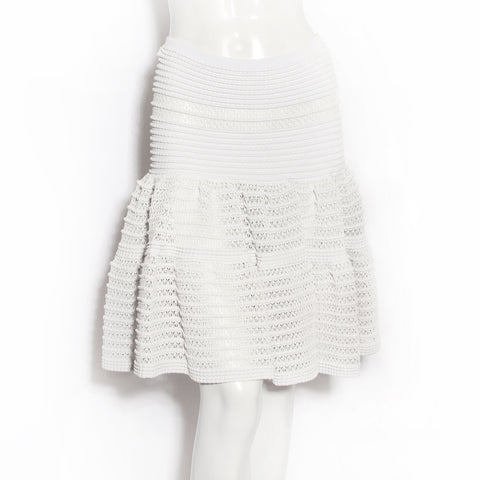 Alaia Knit Bubble Skirt
