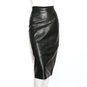 Dolce & Gabbana Leather Skirt