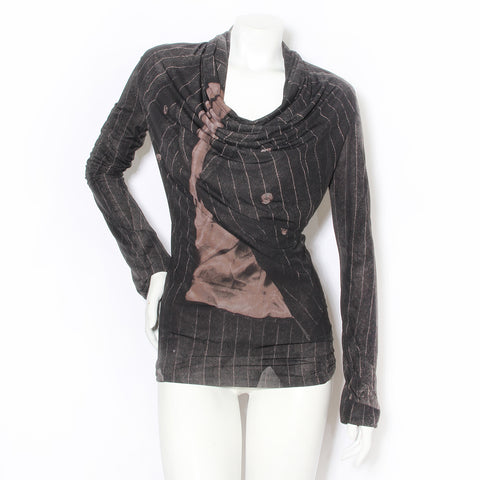 JPG Jacket Print Blouse