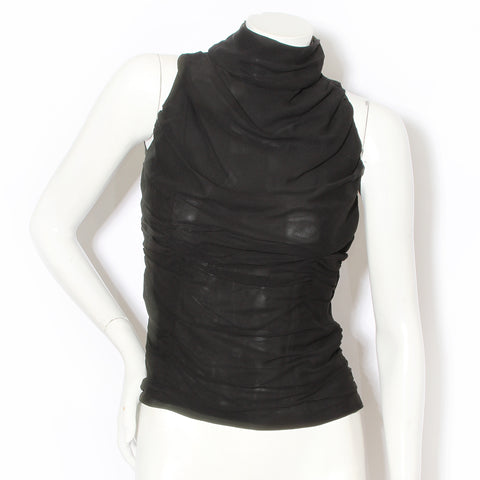 Givenchy Silk Ruched Blouse