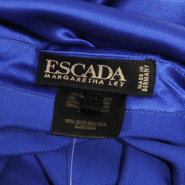 Escada Satin Blouse