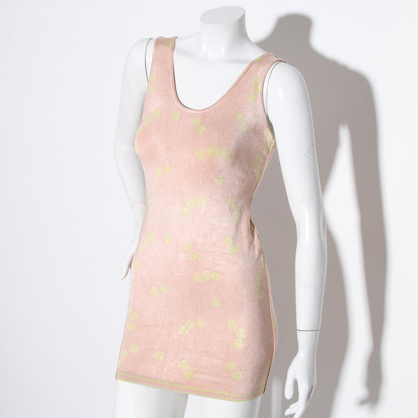 Vintage Alaia Pastel Dot Dress