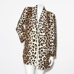 Valentino Sequined Leopard Jacket