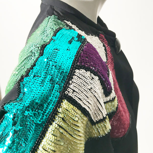 Etro Sequin and floral Jacket