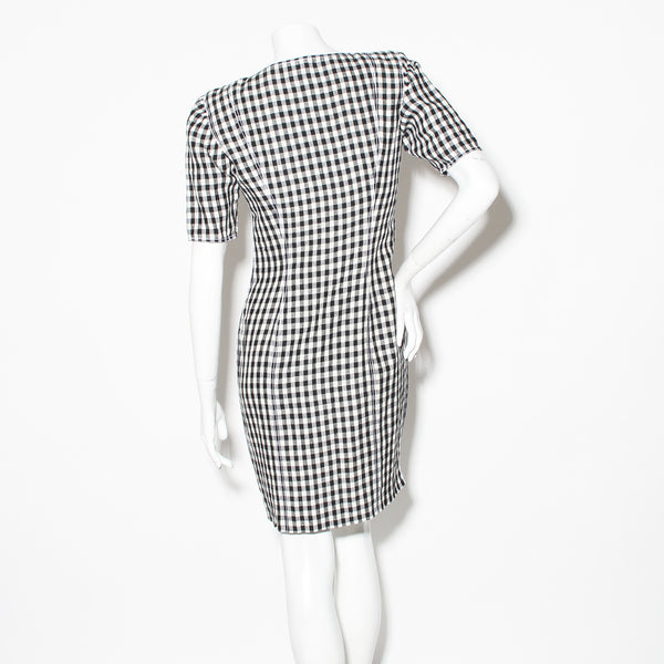Ungaro Gingham Mini Dress