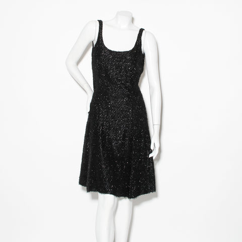 Sprouse Vintage Eyelash Dress