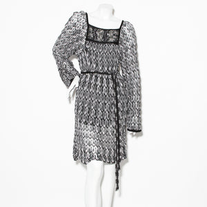 Missoni Lurex Long Sleeve Dress