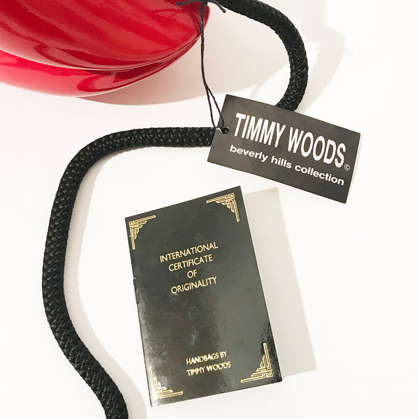 Timmy Woods Lip Handbag