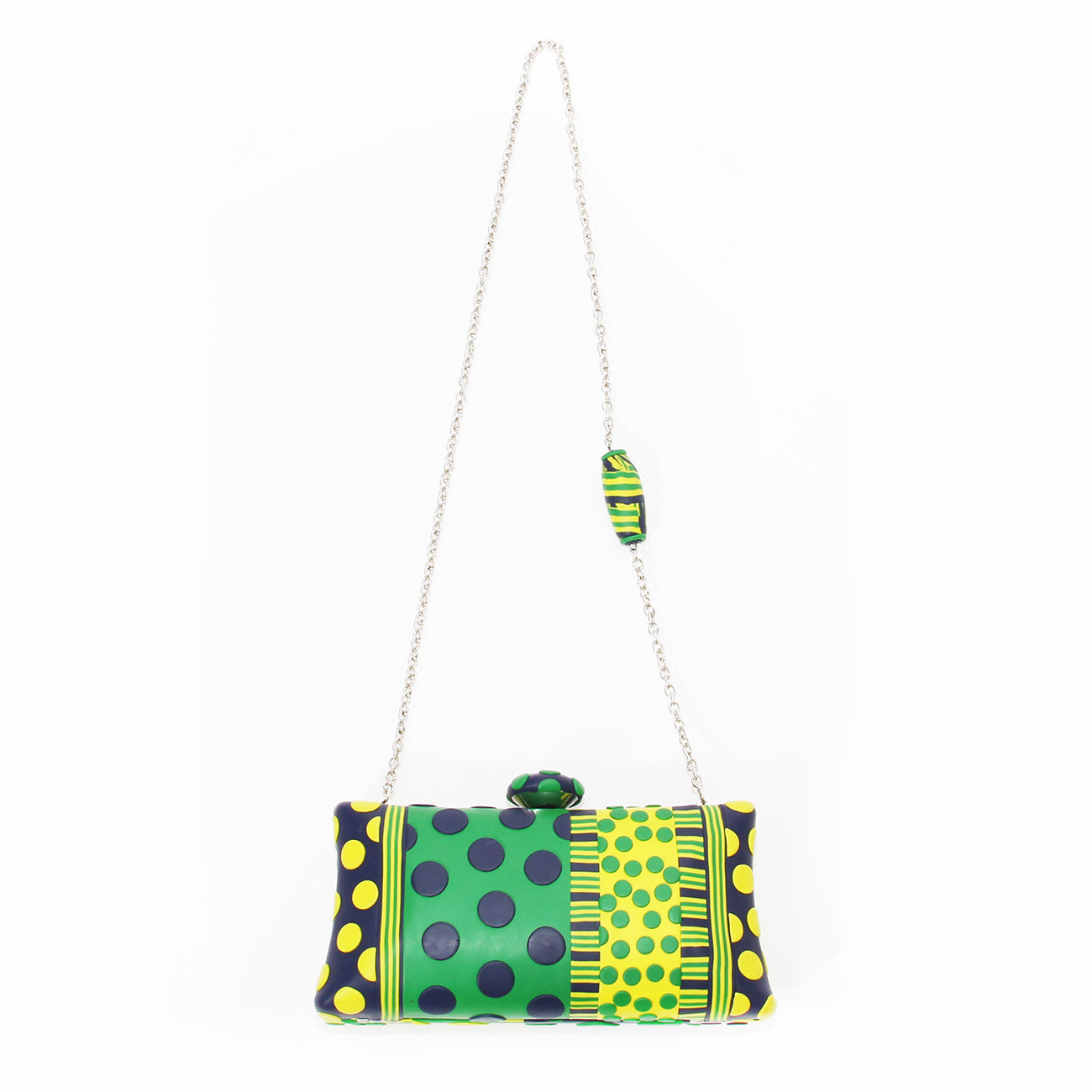 Ronnie Kirsch Polka Dot Clutch