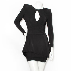 Balmain Keyhole Dress