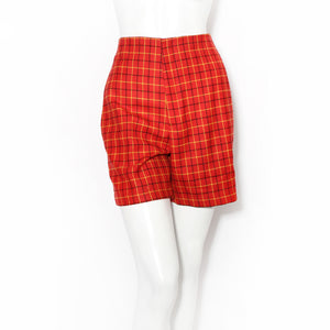 Richard Tyler Checkered Shorts