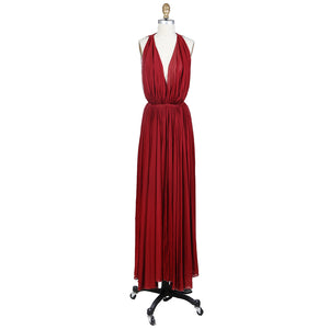 Red Goddess Gown