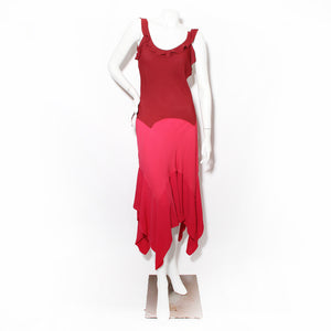 Yves Saint Laurent Ruffle Dress