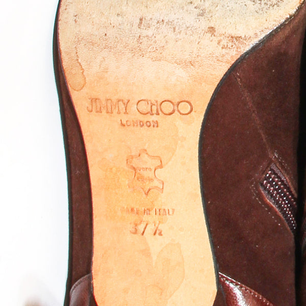 Jimmy Choo Suede Boot