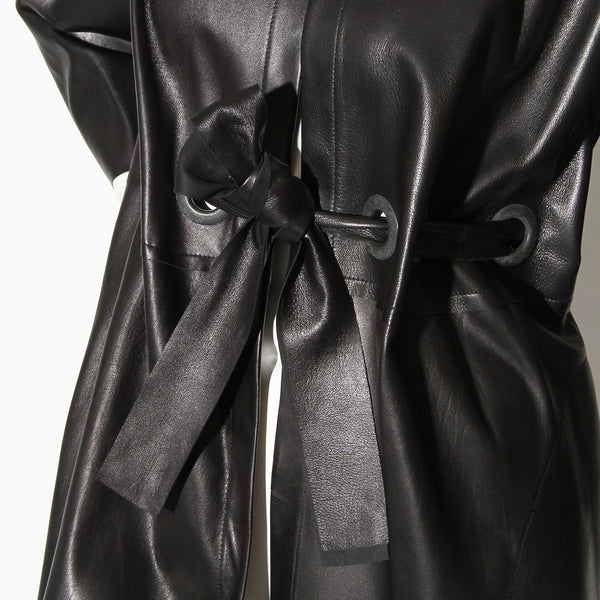 Rozae Nichols Smooth Leather Jacket
