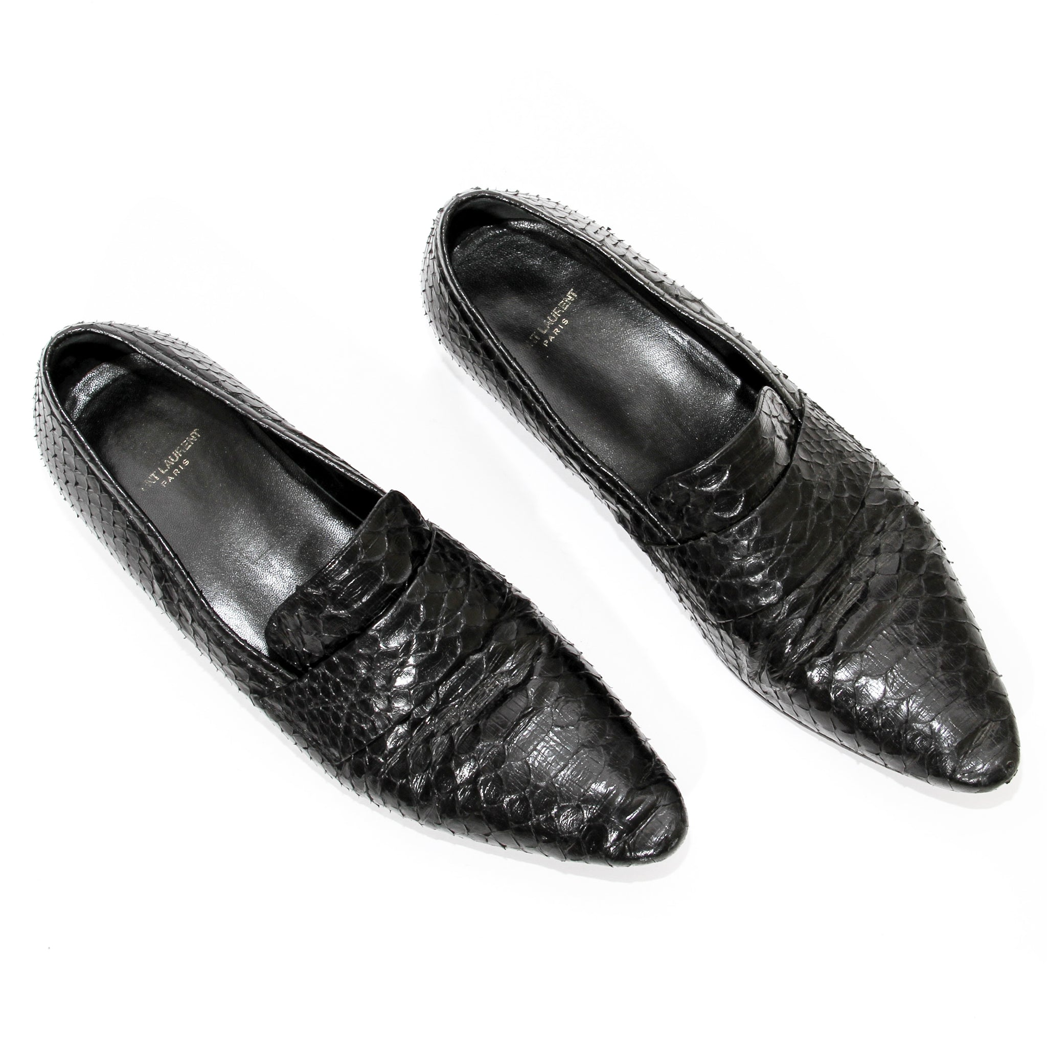 Saint Laurent Paris Reptile Loafer