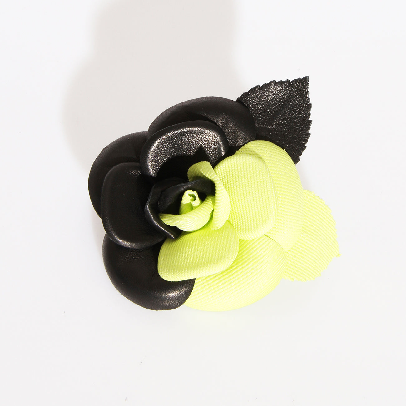 Chanel Neon Flower Brooch