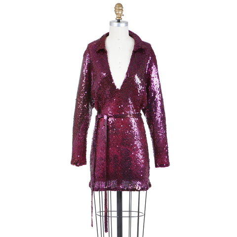 Vintage Sequin Tunic Dress