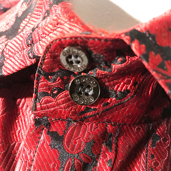 Gucci Men's Paisley Shirt