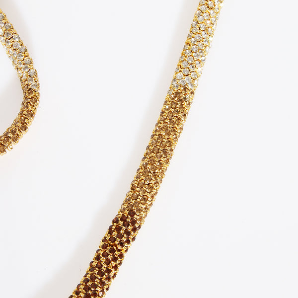 Valentino Vintage Snake Necklace