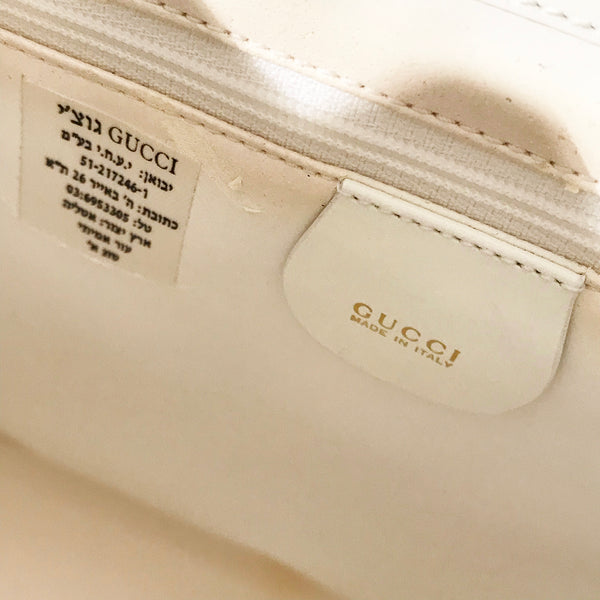 Gucci Patent shoulder Bag
