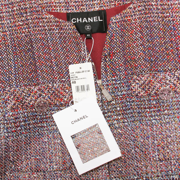 Chanel Pixel Tweed Jacket