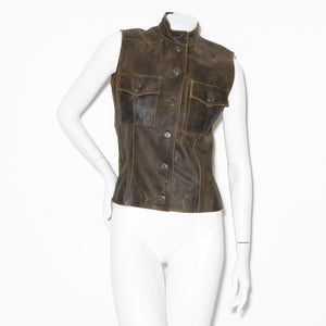 Chanel Leather Vest