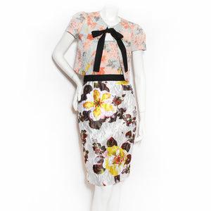 ODLR Cloque Floral Two Piece