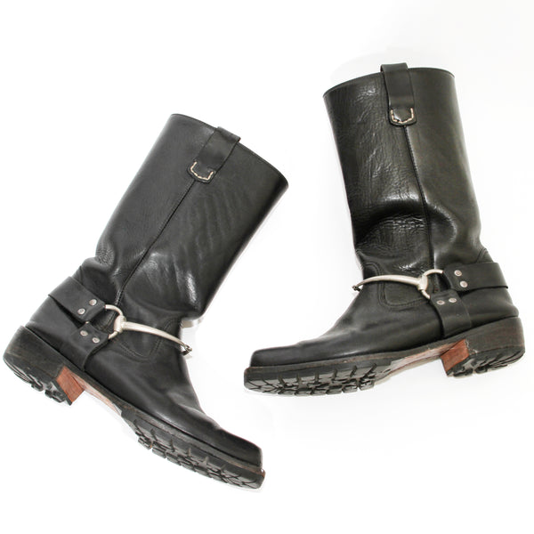Gucci by Tom Ford Biker Boots
