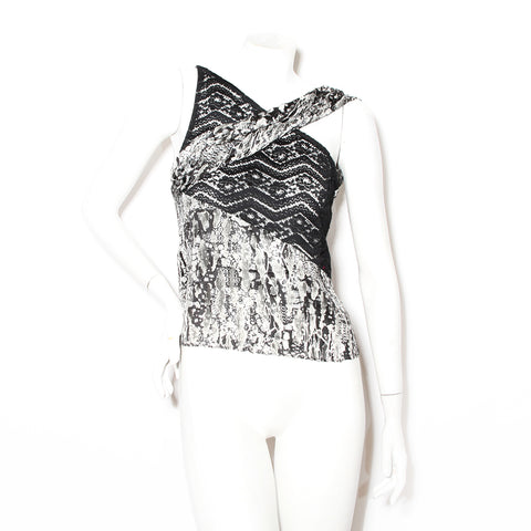 Lacroix Silk and Lace Tank