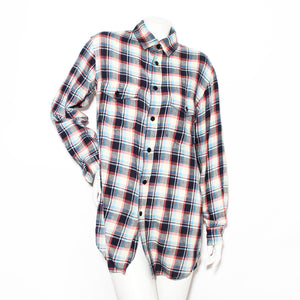Saint Laurent Plaid Flannel