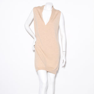 Margiela V-neck Tunic Dress