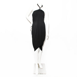 Lanvin Chain Halter Dress