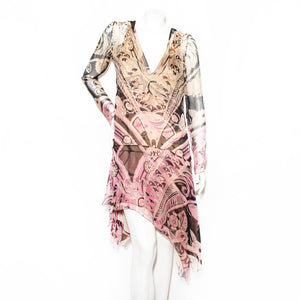 Pucci Chiffon Layered Dress