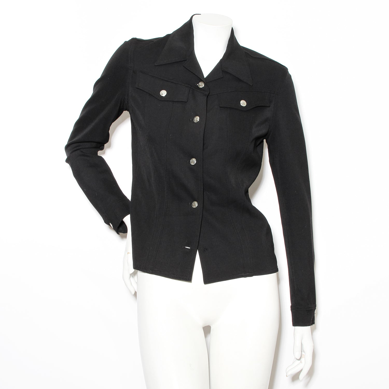 Dior Black Blouse