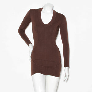 Alaia Vintage Long Sleeve Dress