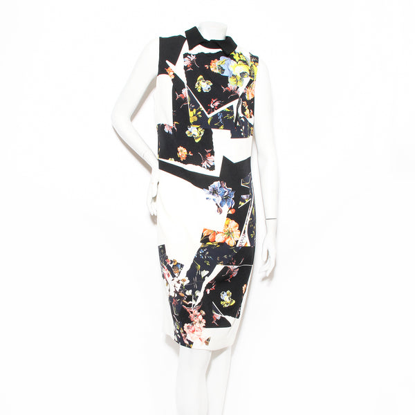 Erdem Floral Collared Dress