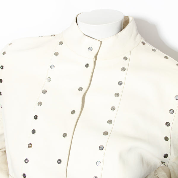 Celine Mk Studded Leather Jacket