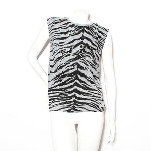 Saint Laurent Tiger Print Tank