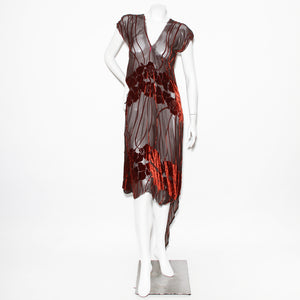 Rozae Nichols Velvet Burnout Dress