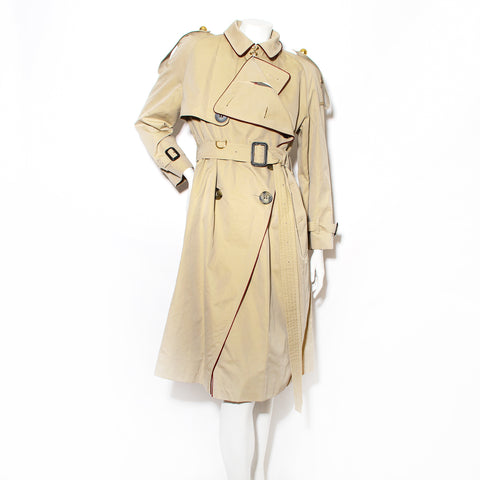 "Burberry Double Breasted ""Chelsea"" Trench Coat"